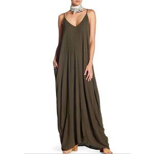 Gauze Maxi Dress